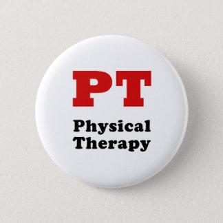 Körperliche Therapie Pints Runder Button 5,7 Cm