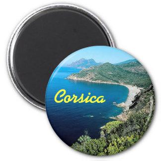 Korsika-Magnet Runder Magnet 5,7 Cm