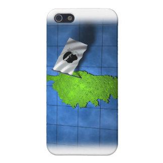 Korsika mit seiner eigenen Flagge iPhone 5 Schutzhüllen