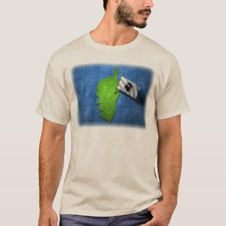 Korsika mit seiner eigenen Flagge T-Shirt