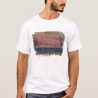 Korsika, (Monaco?) c.1830-35 (w/c auf braunem T-Shirt