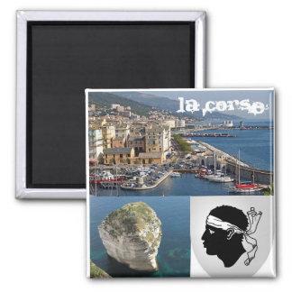 Korsika Quadratischer Magnet