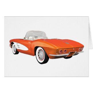 Korvette 1961 C1: Orange Ende: Karte