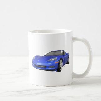 Korvette 2008: Sport-Auto: Blaues Ende: Tasse
