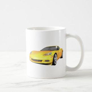 Korvette 2008: Sport-Auto: Gelbes Ende: Tee Tasse