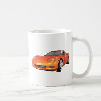 Korvette 2008: Sport-Auto: Orange Ende: Kaffeehaferl