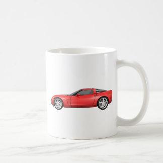Korvette 2008: Sport-Auto: Rotes Ende: Kaffeetasse