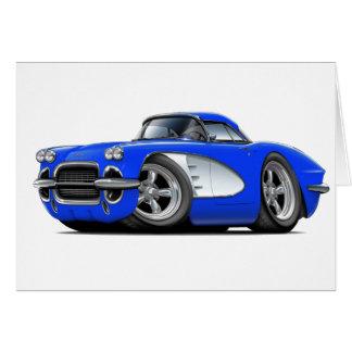 Korvette-Blau-Auto 1961 Karte