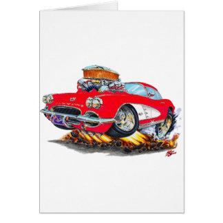 Korvette-Rot-Auto 1961 Karte