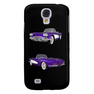 Korvette-Sport-Auto 1961: iPhone 3g Fall Galaxy S4 Hülle