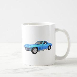 Korvette-Sport-Auto 1967: Blaues Ende: Kaffeetassen