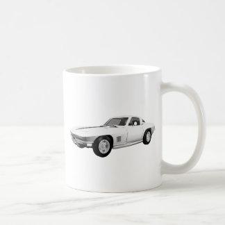 Korvette-Sport-Auto 1967: Weißes Ende: Tasse