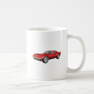 Korvette-Sport-Auto 1970: Rotes Ende Kaffeehaferl