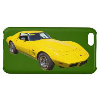 Korvettestingray-Sport-Auto 1975 iPhone 5C Hüllen