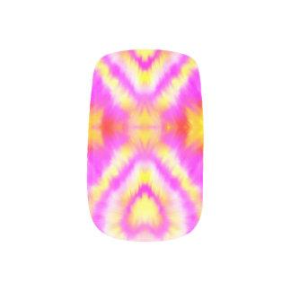 Kosmische Herz-Nagel-Aufkleber Minx Nagelkunst