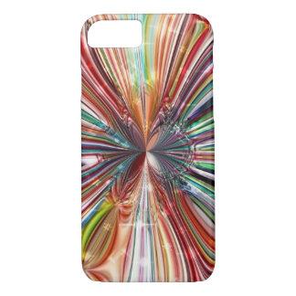 Kosmische KristallBlume iPhone 8/7 Hülle