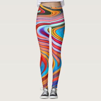 Kosmische Kurven Leggings