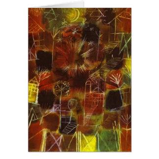 Kosmische Zusammensetzung Pauls Klee- Karte