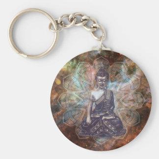 Kosmos Buddha Keychain Schlüsselanhänger