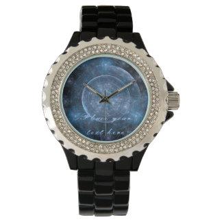 Kosmos-Hintergrund 001 Armbanduhr
