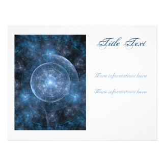 Kosmos-Hintergrund 001 Flyer