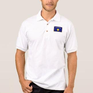 Kosovo-Flaggengolfpolo Polo Shirt
