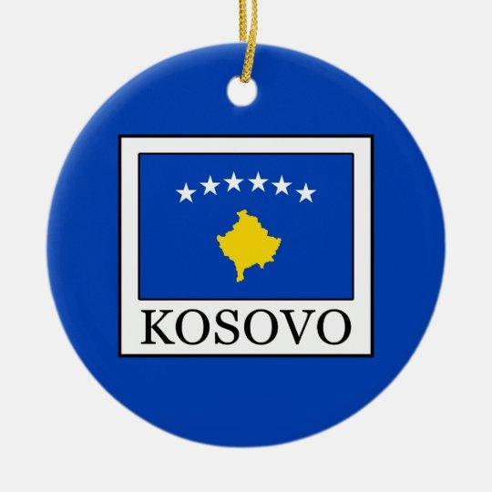 Kosovo Rundes Keramik Ornament