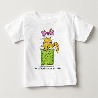 Köstliche Abfall-Miezekatze Baby T-shirt