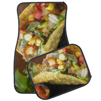 köstliche mexikanische Tacosphotographie Autofußmatte
