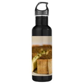 Köstliche Quiche Edelstahlflasche