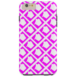 Köstlicher niedlicher rosa kleiner Kuchen Tough iPhone 6 Plus Hülle