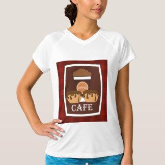 Köstlicher Tasse Kaffee der Illustration T-Shirt
