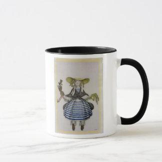 Kostüm für das Marionetten-Mädchen, von der Tasse