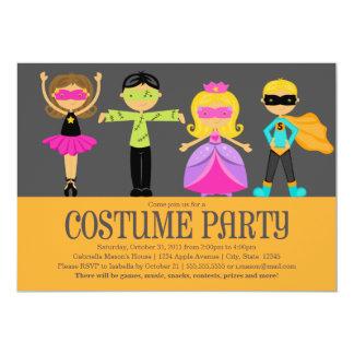 Kostüm-Party 12,7 X 17,8 Cm Einladungskarte