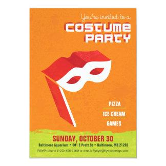 Kostüm-Party Einladung