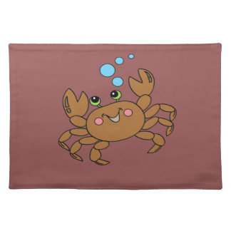 Krabbe 3 stofftischset