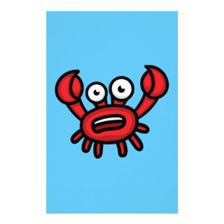 Krabbe Luigi Briefpapier