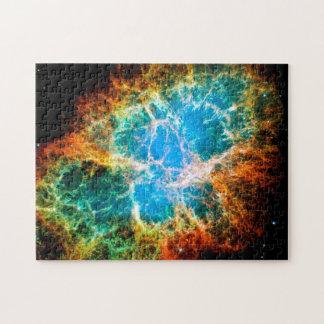 Krabben-Nebelfleck-Supernova-Rest Hubble Raum-Foto