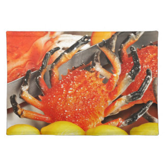 Krabben Tischset