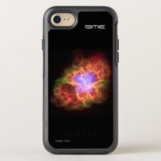 Krabbennebelfleck Ihre Initialenastronomie OtterBox Symmetry iPhone 8/7 Hülle