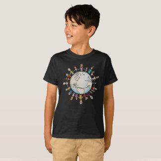 Kraft-Feld für das T-Stück des gutes Kindes T-Shirt