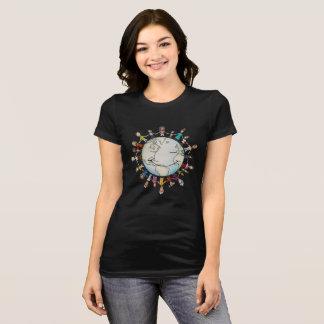Kraft-Feld für den T - Shirt der guten Frauen