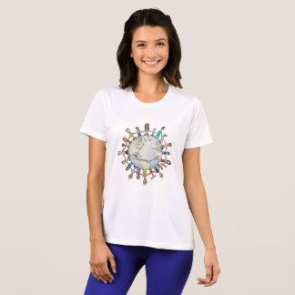 Kraftfeld der neuen Frauen für guten T - Shirt