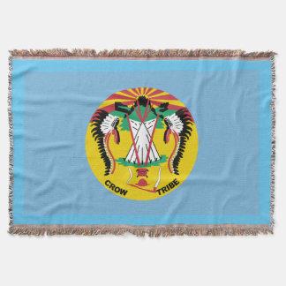 Krähen-Nations-Flagge Decke