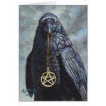 Krähen-Pentagramm Karte