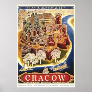 Krakau Poster
