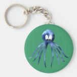 Krake Oktopus octopus Standard Runder Schlüsselanhänger