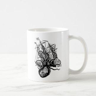 Kraken Angriff Kaffeetasse