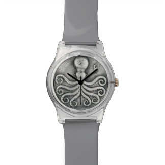 Kraken-Münzen-Uhr Armbanduhr