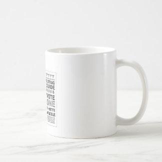 Kram-Post-Pop-Kunst Kaffeetasse